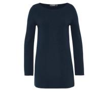 Tunika-Pullover blau