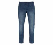 Skinny-fit-Jeans blue denim