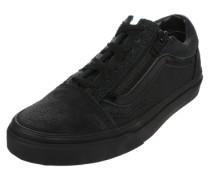 Sneaker 'Old Skool Zip' schwarz