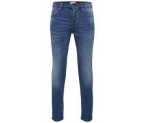 Slim Fit Jeans Loom med blue blau
