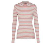 Pullover 'thdw TN Stripe L/S 13' grau / rosa