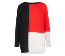 Pullover 'M-Soft' blau / rot / weiß