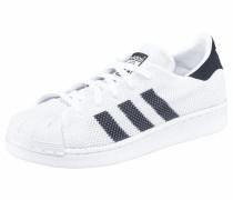 Superstar J Sneaker schwarz / weiß