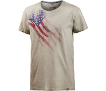 T-Shirt 'TheStandardTZ' beige