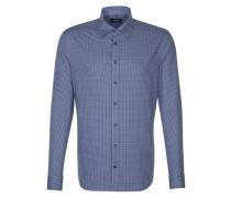 City-Hemd ' Tailored ' blau