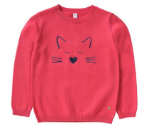 Pullover für Mädchen hellrot