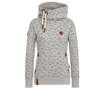 Female Hoody 'Stronger than ever' grau