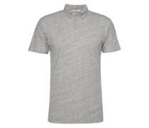 T-Shirt im Melange-Design 'Delgany' graumeliert