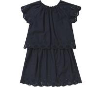 Kinder Jerseykleid 'nithey' schwarz