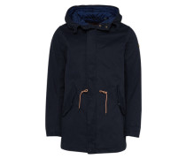 Parker 'Long hooded' nachtblau