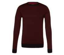 Pulli 'jacquard sweater' schwarz