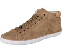 Miana Bootie Sneakers High hellbraun