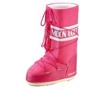 Nylon Winterschuhe pink