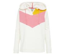 Sweatshirt creme / gelb / rosa