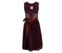 Kleid brombeer