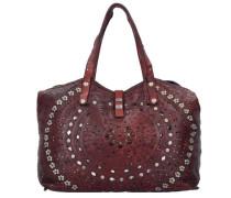 'Echinacea Shopper' Tasche 46 cm burgunder
