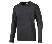 Golf Sweatshirt 'Essential' schwarzmeliert