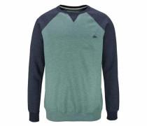 Sweatshirt 'everydaycrew' navy / türkis