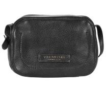 Plume Soft Donna Umhängetasche Leder 22 cm schwarz