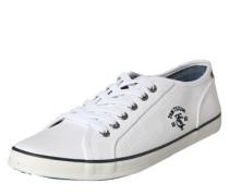Sneaker aus Canvas weiß