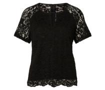 Blusenshirt aus Spitze 'Vimil' schwarz
