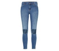 High Waist Jeggings 'Domino' blau