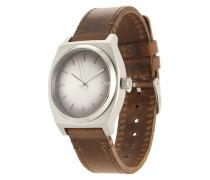 Armbanduhr 'Time Teller' braun / silber