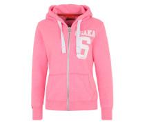 Sweatjacke 'Osaka' pink