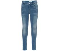 """Skinny Fit Jeans """"nittrine"""" blau"""
