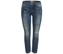 Demi reg Ankle Slim Fit Jeans blue denim