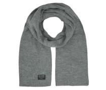 Klassischer gestrickter Schal graumeliert