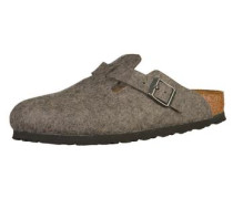 Clogs Boston grau