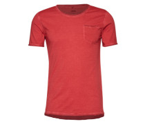 T-Shirt mit Brusttasche 'Cirico' rot