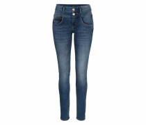 Slim-fit-Jeans 'britt Slim' blue denim