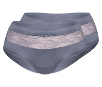 Panty Magic Lace dunkelgrau / rauchgrau