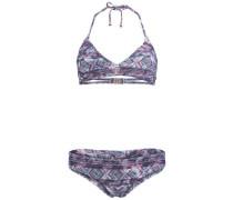 Bikini 'PW Print Crossover' blau / pink