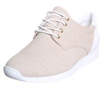 Sneaker 'Kasai' aus Leder in Schlangen-Optik beige / weiß