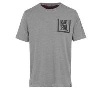 T-Shirt 'Meety' graumeliert