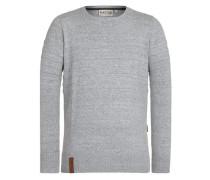 Knitwear 'Schmiergelvampir Iii' grau