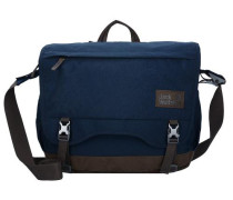 'Camden Note Messenger Bag' 40 cm Laptopfach blau