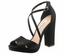 Nina High-Heel-Sandalette schwarz