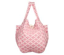 Textiltasche 'Kani Hawi' pink / naturweiß