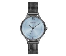 """Armbanduhr """"anita Swk2308"""" rauchblau / graphit"""