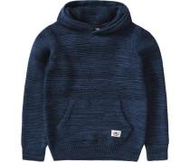 Pullover mit Kapuze für Jungen dunkelblau / schwarz