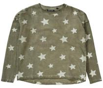 Sweatshirt für Mädchen grün