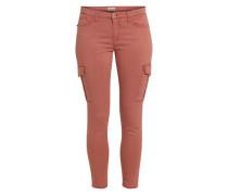 Cargo Jeans beere / pink