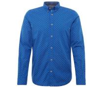 Kariertes Hemd blau