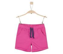 Leichte Popeline-Shorts pink