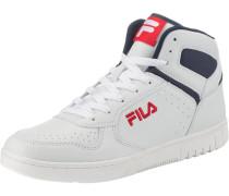 F-Forward mid white Sneakers High weiß