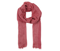Schal mit Pailletten pink